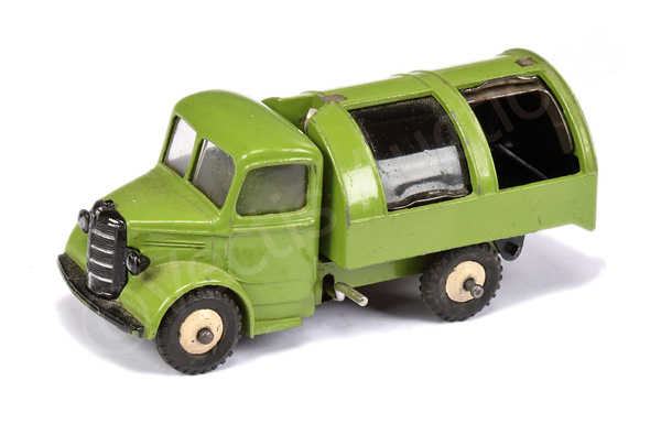 Dinky No.25v/252 Bedford Refuse Wagon - green