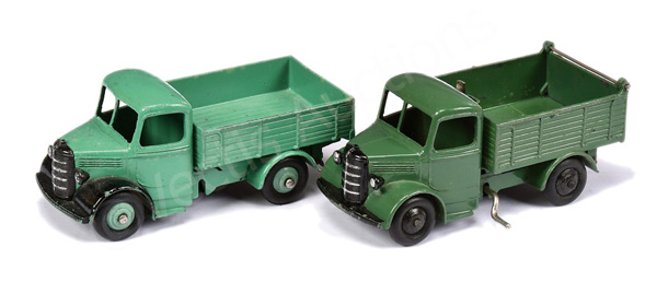PAIR inc Dinky No.25w/411 Bedford Truck - green