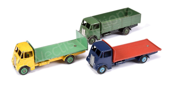 GRP inc Dinky No.512 Guy Flat Truck - blue cab