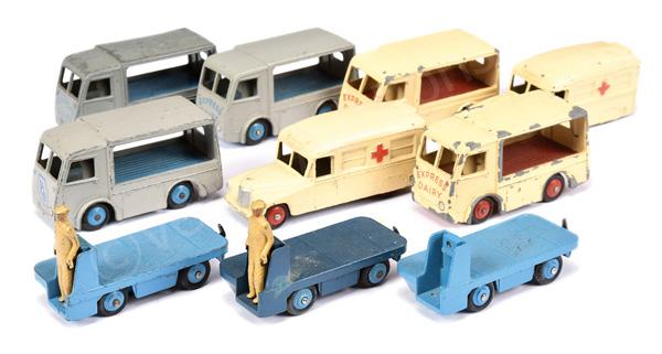 GRP inc Dinky 2 x No.30h/253 Daimler