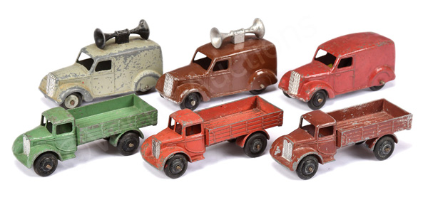 GRP inc Dinky No.22c Motor Truck (different