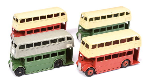 GRP inc Dinky No.29c/290 Double Decker Buses