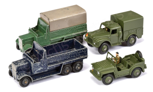 GRP inc Dinky No.25s Six Wheel Wagon - green