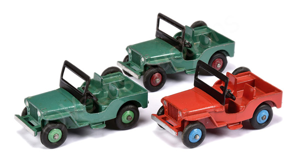 GRP inc Dinky No.25y/405 Universal Jeep