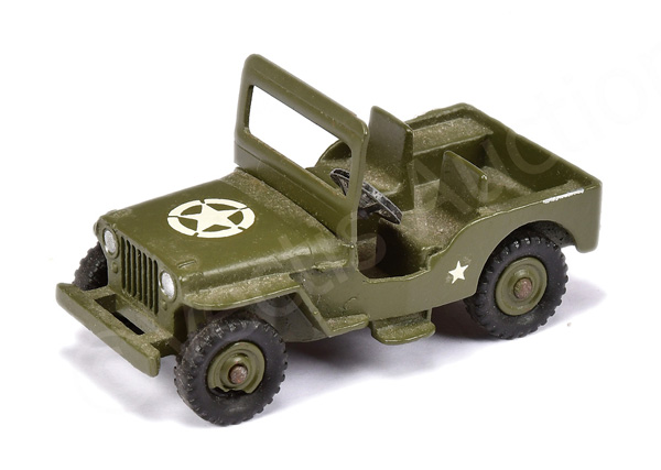 Dinky No.669 Military Jeep - finished in green