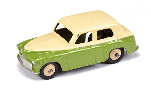 Dinky No.40f/154 Hillman Minx - two-tone green