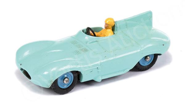Dinky No.238 Jaguar Type D - turquoise body
