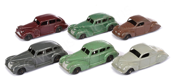 GRP inc Dinky No.39c Lincoln Zephyr; No.39d