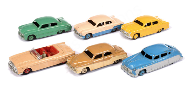 GRP inc Dinky No.172 Studebaker; No.170 Ford