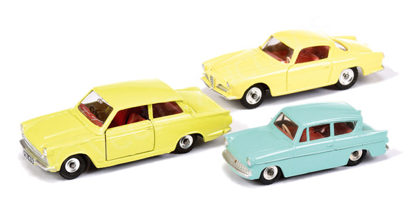GRP inc Dinky No.155 Ford Anglia - turquoise