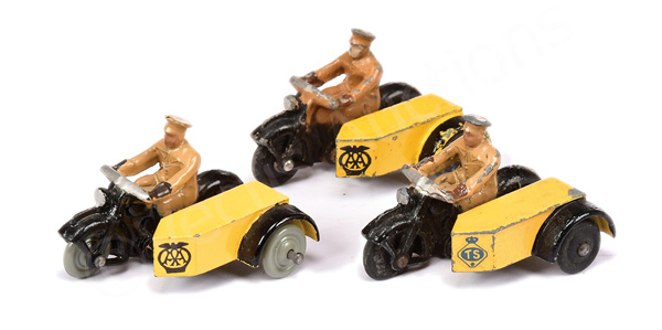 GRP inc Dinky No.271 Motorcycle and Sidecar