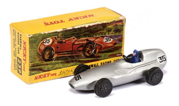 Nicky Toys No.239 Vanwall Racing Car - silver