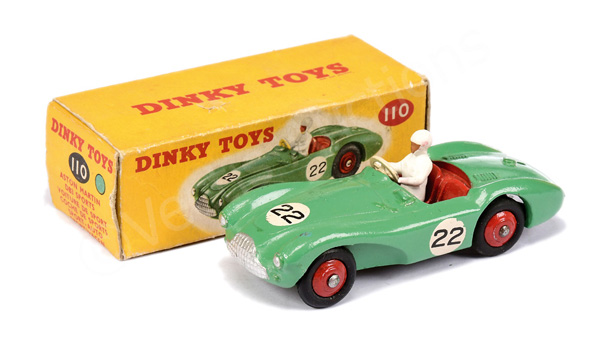 Dinky No.110 Aston Martin DB3 Sports Car