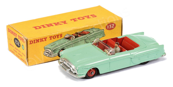 Dinky No.132 Packard Convertible - pale green