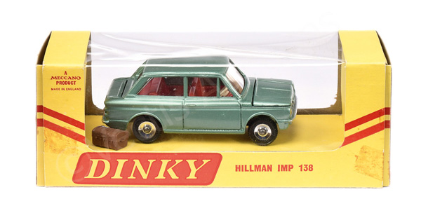 Dinky No.158 Hillman Imp - light metallic green