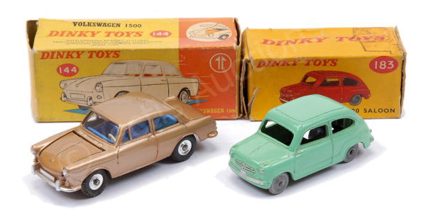PAIR inc Dinky No.144 Volkswagen 1500 - metallic