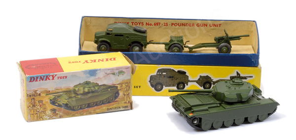 PAIR inc Dinky Military No.651 Centurion Tank