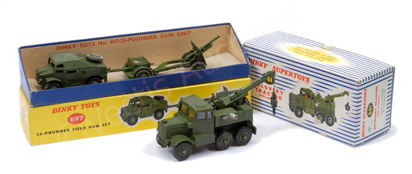 PAIR inc Dinky Military No.661 Scammell Recovery