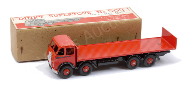 Dinky No.503 Foden (1st type) Flat Truck
