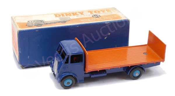Dinky No.513 Guy Flat Truck with Tailboard