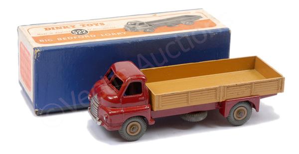Dinky No.522 Big Bedford Lorry - maroon cab