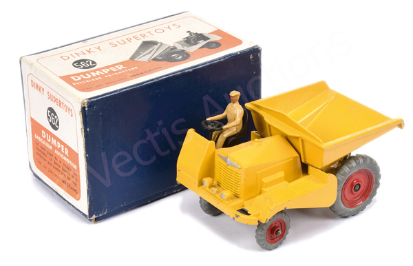Dinky No.562 Muir Hill Dumper - finished
