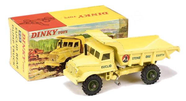 Dinky No.965 Euclid Rear Dump Truck - pale