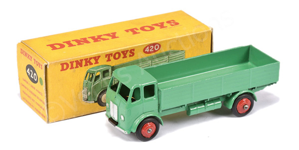 Dinky No.420 Forward Control Lorry - green, red