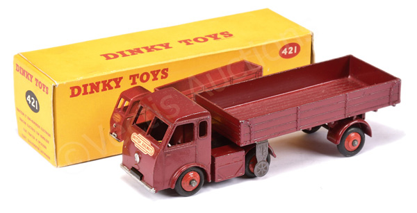 Dinky No.421 Electric Articulated Lorry