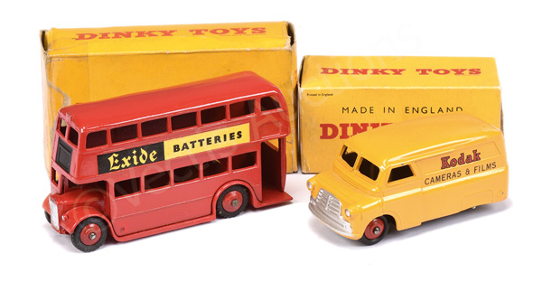PAIR inc Dinky No.291 Double Decker Bus
