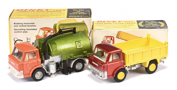 PAIR inc Dinky No.438 Ford D800 Tipper Truck