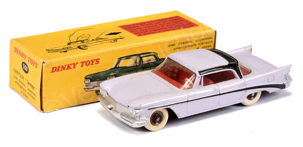 French Dinky No.550 Chrysler Saratoga - lilac