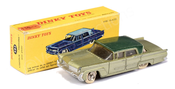 French Dinky No.532 Lincoln Premiere - light
