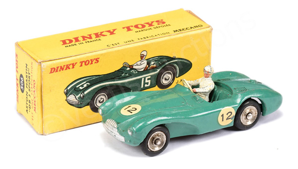 French Dinky No.506 Aston Martin DB3 Sports Car