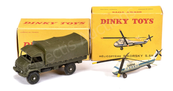 PAIR inc French Dinky No.60d Sikorsky S58