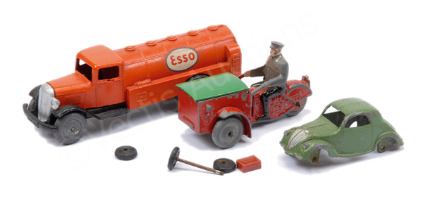 GRP inc French Dinky No.14a Triporteur - red
