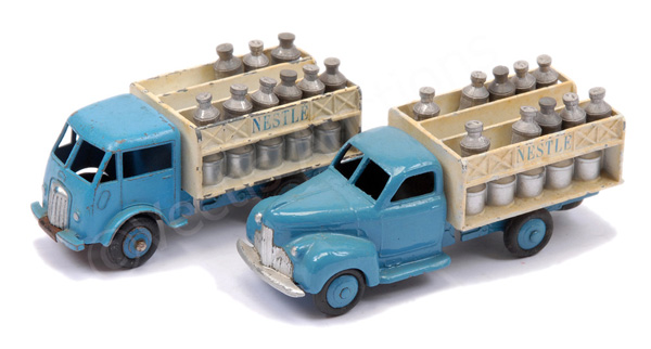 PAIR inc French Dinky No.25o Ford Milk Truck