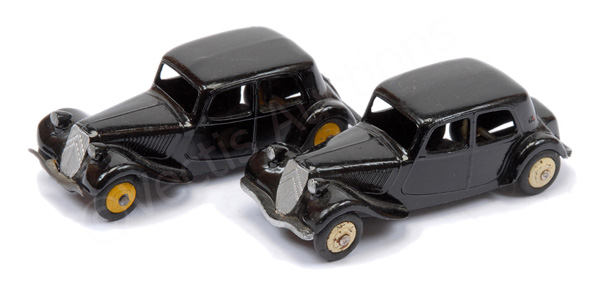 PAIR inc French Dinky No.24m Citroen 11BL