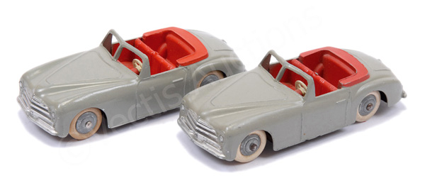 PAIR inc French Dinky No.24s Simca 8 Sports