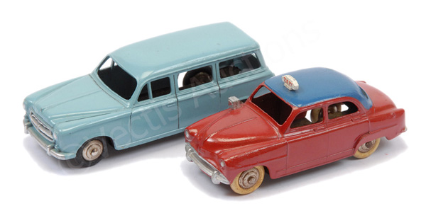 PAIR inc French Dinky No.24u Simca Aronde