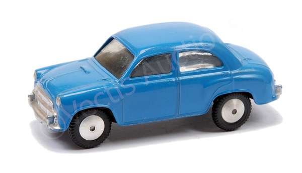 Corgi No.202 Morris Cowley - blue body, flat