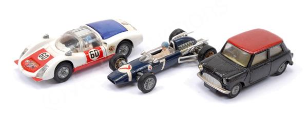 GRP inc Corgi unboxed Porsche Carrera 6; Morris