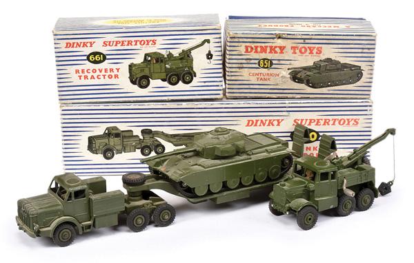 GRP inc Dinky Military No.651 Centurion Tank