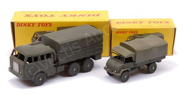 PAIR inc French Dinky No.818 Berliet Military
