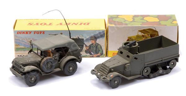 PAIR inc French Dinky No.810 Command Military