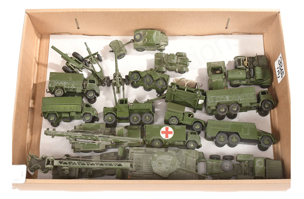 GRP inc Dinky Military unboxed Mighty Antar