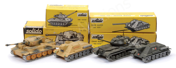 GRP inc Solido Military No.202 Patton Tank