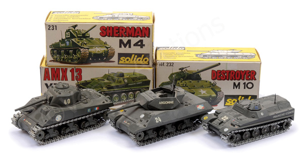 GRP inc Solido Military No.227 AMX13-VTT; No.231