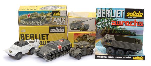 GRP inc Solido Military No.214 Berliet