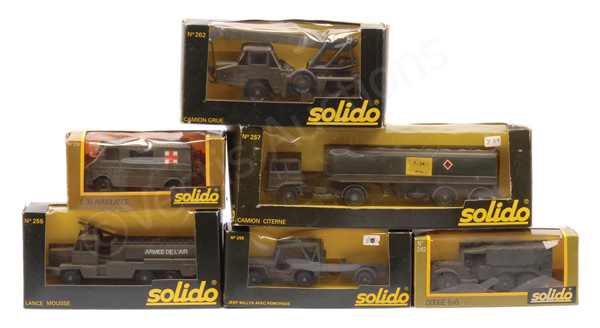GRP inc Solido Military No.257 Articulated